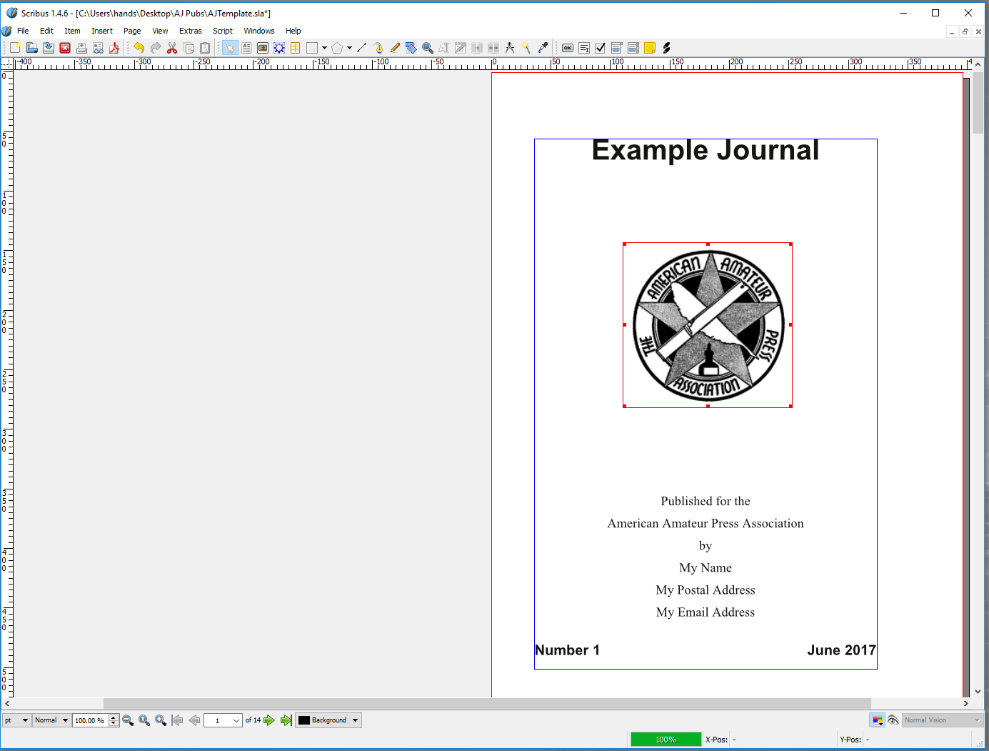 DTP Tutorial: A J  Publishing Using Scribus - AAPA