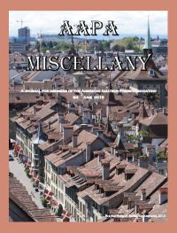 June 2015 AAPA Miscellany